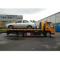 Buy Durable Boom / Lifting Separated Wrecker Tow Truck 40KN For Highway Emergency at wholesale prices
