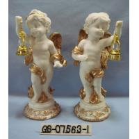Buy Beautiful Polyresin Cartoon Cupid Figurine With Lanterns For Home Decoration at wholesale prices