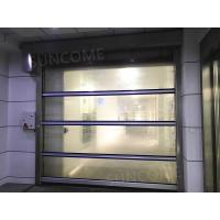 Quality Transparent High Performance High Speed Door Industrial Roll Up Door For Workshop for sale