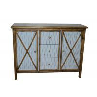 Quality Antique Commercial Hotel Quality Furniture Wood Lobby Consoles With Three Drawers for sale