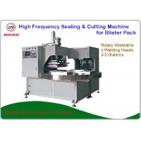 China Double Head Rotary Blister Packing Machine For Tools And Household Appliance Clamshell on sale