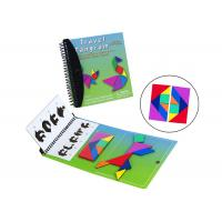 China Toddlers Travel Tangram CMYK Color Magnetic Building Blocks on sale