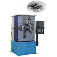 Quality Computer Spring Making Equipment 4 Axis Servo Motor With Color Monitor Display for sale
