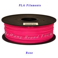 Rose PLA Filament with Spool 1kg For 3D Printer Machine Printrbot Translucent