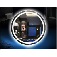 Quality Muti - Functions Smart Anti Fog Bathroom Mirror With LED Light 750mm Diameter for sale