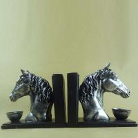 Quality Polyresin Book End/ Horse head Book ends for sale