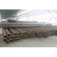 China Structural Welded Steel Pipes, Piling Pipe, Welding Round Tubing For Liquid / Gassy Transportation on sale
