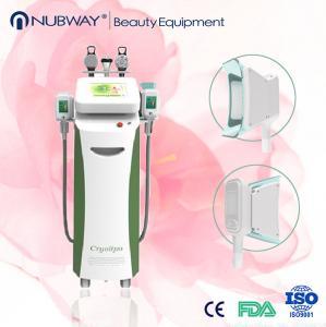 China 1800w Blue Ultrasound Cavitation Cryolipolysis Slimming Machine 2M HZ RF Frequency on sale