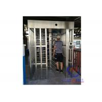Quality football exit 230volt electric Full Height Turnstiles price / rfid fingerprint open gate for sale