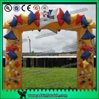 Quality Outdoor Event Inflatable Arch / Gate PVC Customized Inflatable Advertising Signs for sale