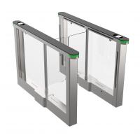 Quality Office building access control turnstile , pedestrian barrier , flow control turnstile , SUS304 Polish No.4 for sale