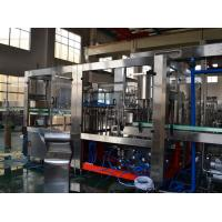 Quality Liquid Water Bottle Packing Machine / Gas Carbonated  Drink Aseptic Filling Equipment for sale