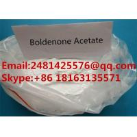 Quality Safe Raw Boldenone Muscle Growth Steroids Boldenone Acetate Powder CAS 2363-59-9 for sale