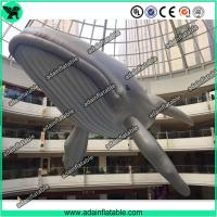 Quality 20m Giant Inflatable Whale Sea Event Inflatable Cartoon Giant Inflatable Animal for sale