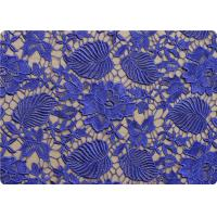 flower 100 polyester lace overlay fabric material purple black lace