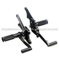 Quality Adjustable Motorcycle Rear Sets CNC Aluminum Parts For Kawasaki for sale