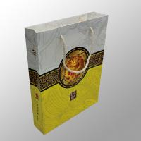 Quality Recyclable Custom Paper Bag Printing For Moon Cake / Electronic Digital Products for sale