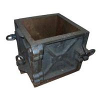 Quality 100*100 Cast Iron Cube Mould for sale