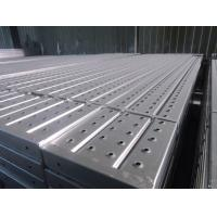 Quality Metal Steel Deck Scaffolding Parts, Q195 Pre-galvanized Steel Plank for sale
