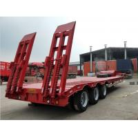 Quality 3 Axles FUWA Heavy Duty Semi Trailers 13000mm Length Cement Carrier Truck for sale
