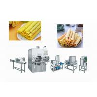 Quality High Efficiency Wafer Stick Making Machine For Food / Beverage Shops for sale