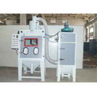Quality Rotary Drum Automated Sandblasting Equipment , Blast for Small Metallic Items for sale