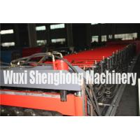 Quality Touch Screen Double Layer Roll Forming Machine , Roof Tiles Making Machine for sale