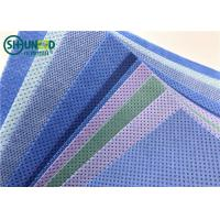 Quality SMMS PP Spunbond Non Woven Fabric Tear Resistant For Surgical Gowns Lab Coats for sale