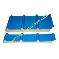 Quality Color Steel Polyurethane Sandwich Panel Metal Roofing Sheets Board Insulation for sale