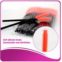 Multi -Top Silicone Mascara Applicator Brushes , Fashionable Eyelash Extension Brush