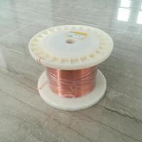Buy cheap Nature Color Rectangular Enamelled Copper Wire Smooth UL Approved from wholesalers