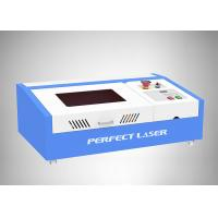 Quality Working Area 300*200mm CO2 40W Small rubber stamp laser engraving machine for sale