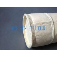 Steel plant casting house dust filter bag DN125x2500 polyester needle punched material