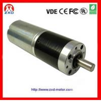 China 36mm dc  planetary gearbox motor on sale