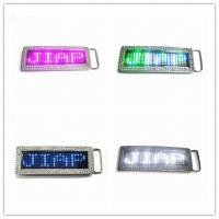 Quality Programmable LED Belt Buckle for Sale for sale