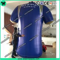 Quality Sports Event Advertising Inflatable T-Shirt Replica/Inflatable Cloth Model for sale