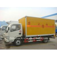 Quality Dongfeng Sealed Box Cargo Truck for sale