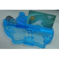 Quality Eco friendly PVC Coin Tray Blue Durable Coin Tray , Durable Money Tray for sale