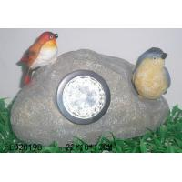 Quality Polyresin solar light, animal with LED light for sale