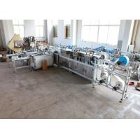 Quality Ultrasonic Non Woven Mask Machine 50/60 HZ Rust Prevention ISO9001 Approved for sale