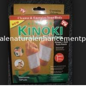 Quality Natural Kiyome kinoki cleansing detox foot pads bamboo vinegar for sale