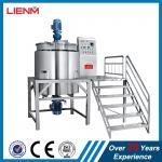 Quality 500L 1000L 2000L Liquid Chemical Mixer Gel Mixer Equipment Liquid Soap Making Machine MixingTank Blending Machine for sale