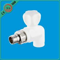 Non Toxic Water Filter Pipe Fittings Pure PPR Raw Material Long Life Span