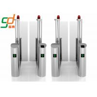 Quality Government Railway Supermarket Swing Gate Bevel Swiping Card Turnstiles System for sale