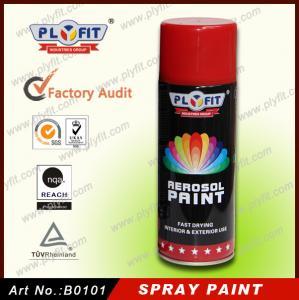 Quality Liquid Coating Tinplate Can 400ML ISO9001 Acrylic Spray Paint for sale