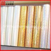 Transparent Front Projection Film Holographic Foil Printing No Ripples
