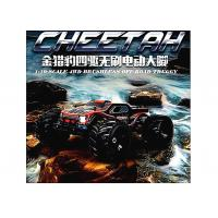 China Big Bore Shocks Brushless Electric RC Car , 1 10 Scale Electric RC Trucks on sale