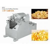 Quality ISO9001 Candy Packaging Machine / Large Air Puffing Machine For Cake , Bread And Rice Bar for sale