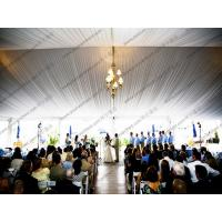 Quality Elegant PVC Wedding Event Tents Transparent Cover Lining And Curtain Decoration for sale