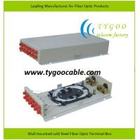 Buy cheap Fiber Optic Terminal Box-Adapter outlet for FC adapters from wholesalers
